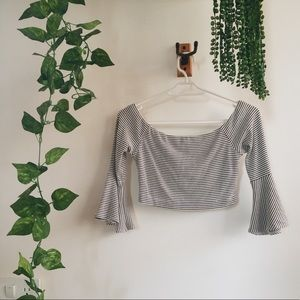 French Cropped top
